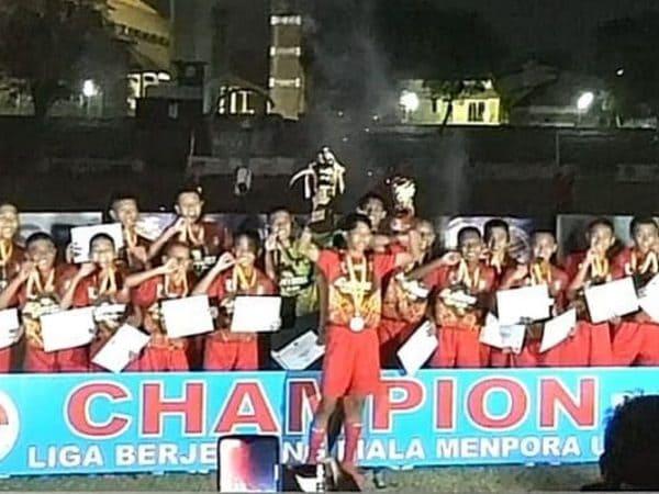Jawa Tengah Juara Liga Berjenjang U-14 Piala Menpora 2019
